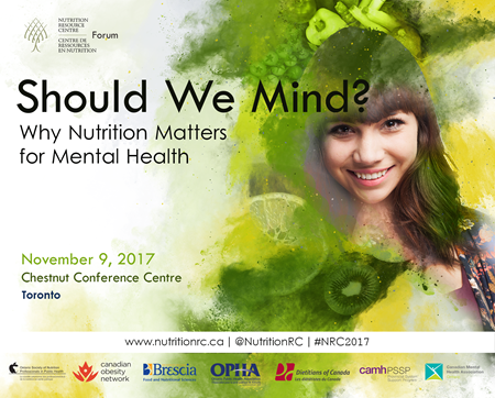 NRC 2017 Forum: Should We Mind: Why Nutrition Matters for Mental Health