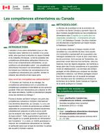 Les Compétences Alimentaires au Canada