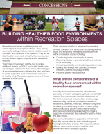 Building Healthier Food Environments within Recreation Spaces