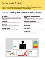 Tips for Creating Healthier Concession Stands