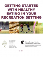 Getting Started with Healthy Eating in Your Recreation Setting