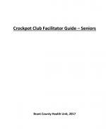 Crockpot Club Facilitator Guide – Seniors