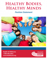 Healthy Bodies, Healthy Minds – Position Statement