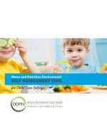 Menu and Nutrition Environment Self-Assessment Tool for Child Care Settings