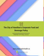City of Hamilton's Corporate Food and Beverage Policy