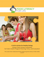 A Call to Action for Healthy Eating: Using a Food Literacy Framework for Public Health Program Planning, Policy, and Evaluation