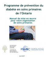 Programme de prévention du diabète en soins primaires de l'Ontario