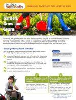Garden, Grow and Learn