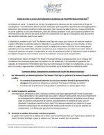 Guide de mise en oeuvre de l'adaptation canadienne de l'outil The Newest Vital SignMC
