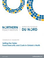 Setting the Table: Food Insecurity and Costs in Ontario's North