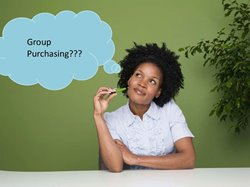 Person thinking about Group Purchasing