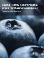 Buying Healthy Food through a Group Purchasing Organization