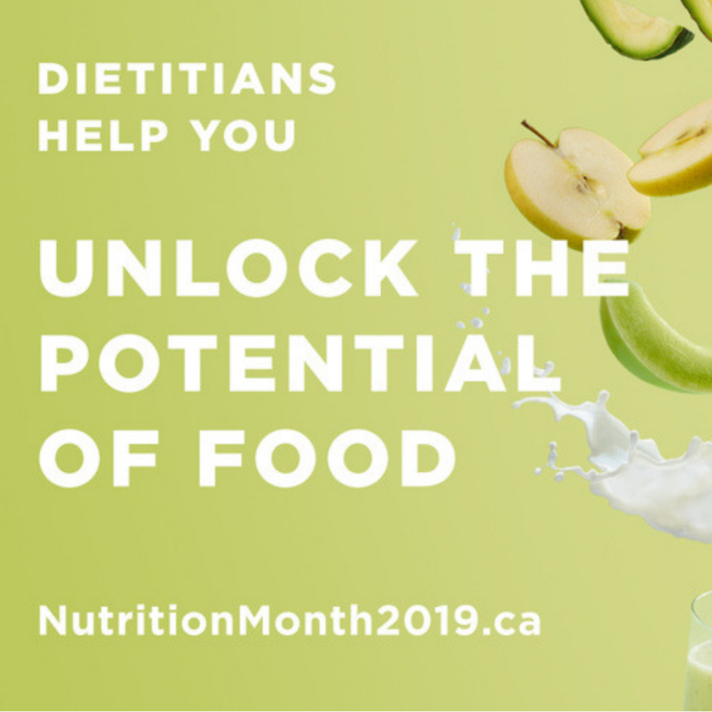 Nutrition Month 2019: Unlock the Potential of Food