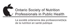 Ontario Society of Nutrition Professionals in Public Health
