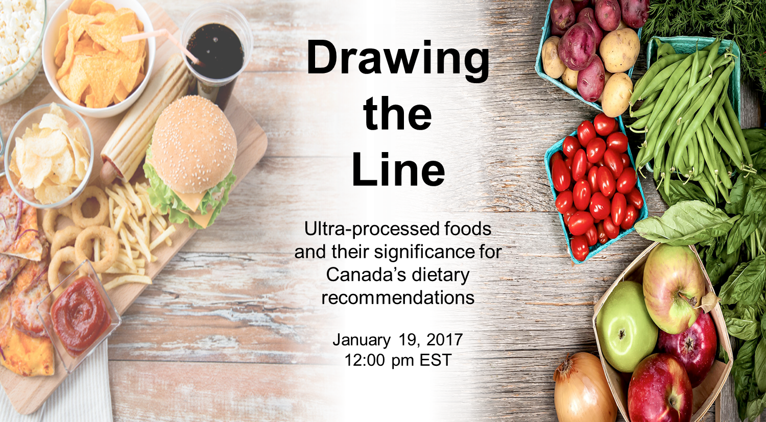 Drawing The Line Ultra Processed Foods And Canada S Dietary Recommendations Nutrition Connections