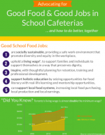 Good Food & Good Jobs in School Cafeterias